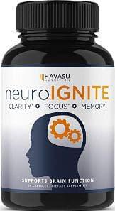 Havasu Nutrition Neuro Ignite Brain Boosting Supplement