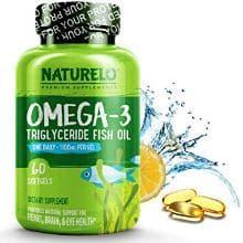 Nauturelo Omega 3 Brain Boosting Supplement