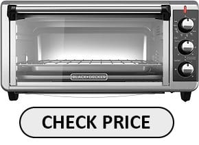 BLACK+DECKER TO3250XSB Best Toaster Oven for baking