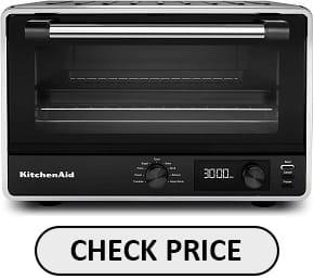 KitchenAid KC0211BM Toaster Oven for baking