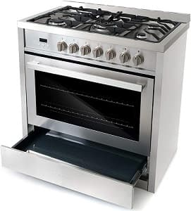 Cosmo COSF965NF 36 Inch Gas Range