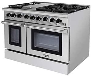 Thor Kitchen LRG4801U 48 Inch Professional Gas Range